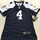 New Dak Prescott 4 Thanksgiving Blue Dallas Cowboys Mens Stitched jersey 40 56