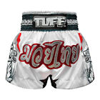 Tuff Boxing Muay Thai Shorts Micro Fabric TUF-MS616-WHT