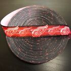 "7/8"" Detroit Red Wings Winged Wheel Grosgrain Ribbon by the Yard (USA SELLER!) $2.95 USD on eBay"