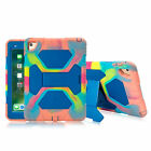 Shockproof Silicone Rubber Case Heavy Duty Cover Kickstand For Ipad Mini 4 Kids