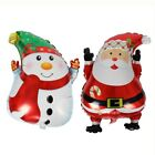 XMAS Helium Balloon Merry Christmas Party Tree Santa Foil Latex Birthday HOT 3pc