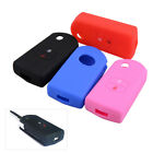 Silicone 2 Button Remote Flip Key Cover Case Fob Fit for Mazda 2 3 5 6 2005-2012