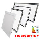 12W/21W/48W Square LED Suspended Recessed Wall Ceiling Panel Flat Light Lamp US