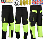 Men Motorbike Motorcycle Waterproof Textile Trouser Pant With CE Armored New