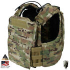 TMC Tactical Vest CAC Plate Carrier Molle Body Armor w/ Plates Military HuntingVests - 178080