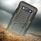 Shockproof Rubber Hybrid Hard Case Cover Holster For Samsung Galaxy A3/A5 2015