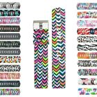 StrapsCo Patterned Silicone Watch Band Strap for Fitbit Charge 2
