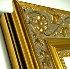 8x10 Ornate Gold Picture Frame, REAL WOOD, Gold Ornate 8x10 Gold Photo Frame