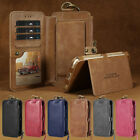 Men Women Multifunction Phone Protective Case Cover Wallet Purse iPhone&Samsung