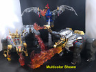 Masterpiece Transformers Dinobot Fire Effect Grimlock Snarl Slag Slug Swoop USA!