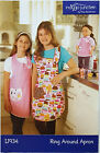 INDYGO JUNCTION APRON FOR GIRLS + DOLL UNCUT NEVER USED SIZE S-M or M-L # IJ934