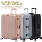 16/20/24/28' Luggage Travel Set with 4 Wheels Bag Trolley Case Carry On Suitcase