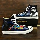 STAR WARS hand painted shoes zapatos pintados scarpe dipinte a mano $139.0 USD on eBay