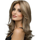 Synthetic hair wig wavy hair wig women hairpiece top Replacement full head wig