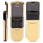 Nokia 8800 GSM Mobile Phone Symbian Slider Black/Silver/Gold FAST SHIPPING USA