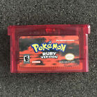 Reproduction Pokemon Games: Sapphire, Ruby ,Emerald, Fire Red, Leaf Green