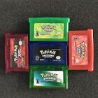 pokemon games sapphire - Reproduction Pokemon Games: Sapphire, Ruby ,Emerald, Fire Red, Leaf Green