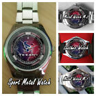 Get New NFL Houston Texans American Football Team Logo Custom Unisex Wristwatch on eBay