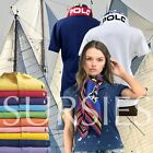 POLO RALPH LAUREN POLO SHIRT Womens Classic & Skinny Fit Purple, Red & Cove Blue