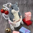 Xmas Adorable Interesting Speak Talking Record Hamster Mouse Plush Kids Toys US