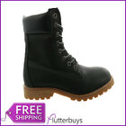 Womens Size 3 Black Work Boots Hiking Walking Rambling Boots Lace up New Ladies