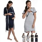 Zeta Ville - Women's Maternity Nursing Nightdress / Robe - MIX & MATCH - 077c
