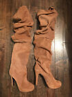 VICTORIAs SECRET� Suede Over-the-Knee Boots 8.5