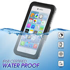 For iPhone 8 7 Plus Waterproof Shockproof Dirt Snow Proof Hybrid Slim Case Cover
