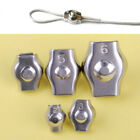 10pcs Stainless Steel Wire Rope Grips Cable Clamps Caliper Clips 4mm -12mm