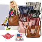 Women Leather Tote Bag Handbag Lady Purse Shoulder Messenger Satchal Bags T33