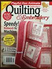 Quiltmaker's Quilting & Embroidery Magazine,  Various Issues