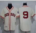 Boston Red Sox jersey Ted Williams 1939 throwback 9 Home New NWT Fenway MLB