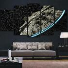 UnFramed Canvas 5 Panel Star Wars Millennium Falcon Wall Art $38.59 CAD
