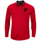 Atlanta Falcons Men's Majestic Ready 'n Willing Pullover - FREE SHIPPING! on eBay