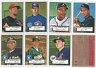 2001 Topps Heritage RED BACK Parallel Base Set Subset Single Cards 21 Available