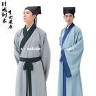 New fashion mens Chinese dynasty Song ancient time Scholar costumes size 190cm #