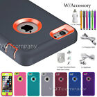 For Apple iPhone 5C 5 5S SE Shockproof Hybrid Rugged Hard Armor Case+Accessories
