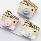 wood toys baby - Wooden Toy Xmas Baby Room Decor Wood Camera Toy Natural Cute Children Kids Gifts