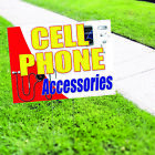 shop mobile cell phone - Cell Phone Accessories Mobile Shop Business Advertising Coroplast Yard Sign