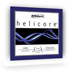 D'ADDARIO HELICORE VIOLA STRING SET Medium or Long Length Steel Core Warm Tone