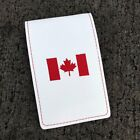 Canada Yardage Book Cover Genuine Leather Golf Scorecard Holder