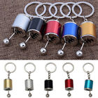 Metal Finish Gear Box Shifter Key Chain Fob Ring For Car 5 Color Keychain Fad