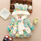 Winter Thick Cotton Padded Baby Jacket Infant Warm Parka Coats Outerwear Clothes