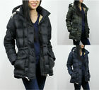 New Abercrombie & Fitch A&F By Hollister Women DOWN-FILLED PUFFER COAT Jacket