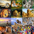 Tiger Lion Animals Paint By Number Kit DIY Acrylic Oil Painting Canvas Art Decor