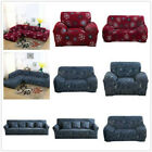 Perfect Fit 1/2/3/4 Seater Thick Polyester Couch Stretch Sofa Cover Slipcover US