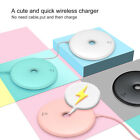 Wireless Charging Pad Qi Fast Charger Stand Dock For Samsung Note8 S8 iPhone 8 X