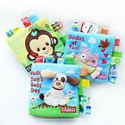 Variety of Soft Cloth Preschool Toddlers Intelligent Development Toy Book