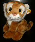 W-F-L Ty Wild Best Stuffed Toy 9 13/16in Selection Lion Tiger Bear Penguin Wolf