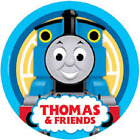Thomas Tank Engine Party - Plates, Whistles, Sipper Cup, Cupcake Topper, Bubbles